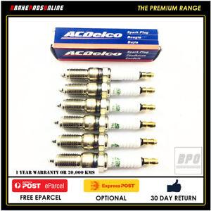 Spark Plug 6 Pack for Holden Jackaroo UBS 3.2L 6 CYL 6VD1 6/2005-2/1998 41602