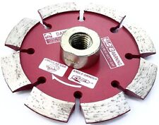 """4.5"""" x .250"""" V-Shaped Crack Chaser 4 Concrete w/ 5/8""""-11 Threaded Adapter 4 1/2"""""""