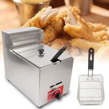 New Listingkld 71 Countertop Gas Fryer Commercial Deep Fryer Pot Propane Lpg 10l 1basket