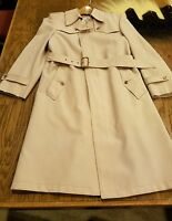 RUE ROYAL NINO CERRUTI Beige Men's Trench Coat Sz 38