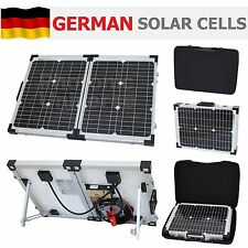 Panel Solar Plegable 40W 12V Kit de carga para Camper Caravana Barco Yate RV 2x20W
