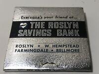Vintage The Roslyn Savings Bank Matches Roslyn W Hempstead Farmingdale Bellmore