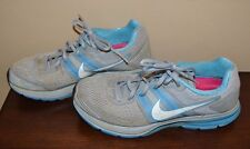 NIKE Pegasus 29  Gray & Blue Running Sneaker Size 9.0 Pre Owned