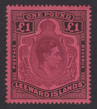 Leeward Islands. SG 114, £1 brown-purple & black/red. Fine mounted mint.