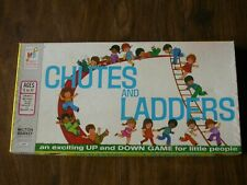 Complete 1972 Chutes and Ladders - Milton Bradley