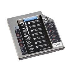 "12.7mm Second 2.5"" SATA SSD HDD Caddy Laptop Optical Drive Bay Aluminum Adapter"