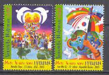 Frieden, Zeichnungen - UNO-Wien - 451-452 ** MNH 2005
