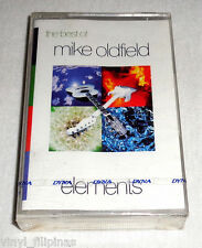 PHILIPPINES:The Best Of MIKE OLDFIELD - Elements,TAPE,Cassette,RARE,SEALED