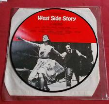 WEST SIDE STORY RARE LP PICTURE DISQUE DANEMARK BERNSTEIN