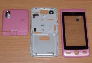 Genuine Original LG KP501 Cookie Digitizer Housing Fascia Cover Pink