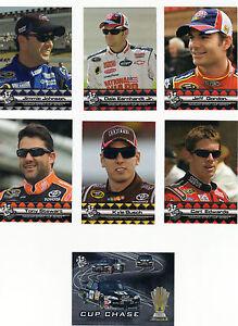 2009 Press Pass WALMART Complete 6 card set BV$25! DaleJr Johnson Gordon Stewart