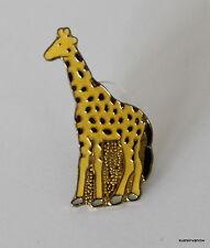 New Giraffe Long Neck Lapel Hat Pin Safari Animal Tie Tack Large Mammal Jungle