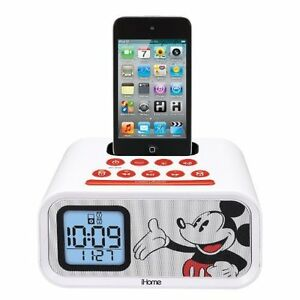 Disney  Mickey Mouse Dual - Alarm Clock Speaker System