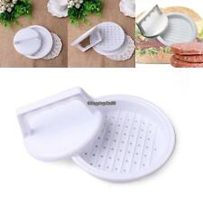 Portable Manual Hamburger Patties Press Mold Round Shape Meat Pie Press EH7E