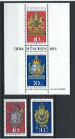 Allemagne - RFA N°614/15**+Bloc 8** (MNH)1973 Congrès des philatélistes à Munich
