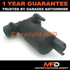 CITROEN XSARA PICASSO 1999-2015 FRONT & REAR TWIN OUTLET WINDSCREEN WASHER PUMP
