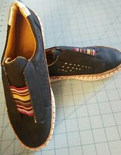 Unbranded: Women's Size 7 Blue Slip On Sneaker Shoes, Brand New, Free Shipping