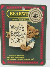 """Boyd's #82531 * Bearware Pin * """"Lil' Tot.Guess Who Loves You?"""" * Brand New"""