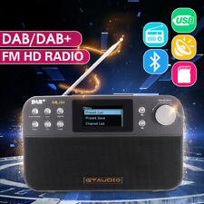 2.4'' Portable DR-103 RDS FM/ DAB/ DAB+ Digital Radio USB Alarm Clock Speaker
