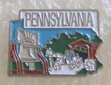 State of Pennsylvania Tourist Travel Souvenir Collector Pin