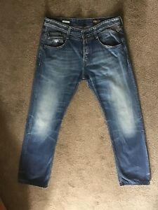 Replay syrret blue jeans 34x36, great condition