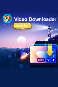 DVDFab Video Downloader (Lebenslange Lizenz) PC, Download, Windows