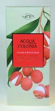 4711 Acqua Colonia Lyche & White Mint Eau de Cologne 170 ml Spray OVP in Folie