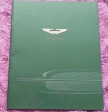 ASTON MARTIN AM Db7 Vantage Broschüre Prospekt catalogue brochure englisch
