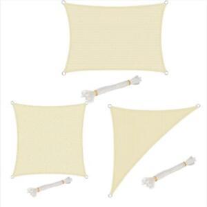 Woltu Tenda a Vela Parasole Telo da Sole in Protezione Solare Anti UV Giardino