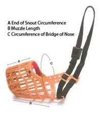 Dog Canine J0884F Buster Nylon Basket Muzzle Size #7 Medium Dog Training Aid