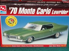 AMT 1970 CHEVY MONTE CARLO LOWRIDER PLASTIC MODEL KIT 1/25 SEALED SKILL LEVEL 2