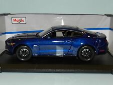 Maisto Special Edition 1/18 2015 Ford Mustang Blue MIB