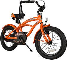 BIKESTAR® Kinderfahrrad ab 4 Jahre ★ 16er Cruiser Edition ★ Sunny Orange