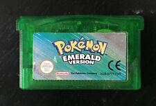 Pokémon Emerald Version (Nintendo Game Boy Advance, 2005) WORKING and AUTHENTIC