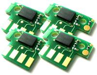 4 x SUPER HY Toner Chip for Lexmark C540 C544 X543 X544 X546 (8k, 6k) Refill