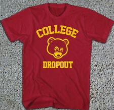 New College Dropout T-Shirt Kanye West USC Trojans Yeezy Dope Yeezus MEDIUM