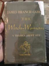 THE WITCH WOMAN JAMES BRANCH CABELL 1948 FARRAR STRAUS FIRST EDITION  DJ