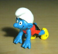Smurfs 20441 Sprinter Smurf Track Runner Vintage Figure PVC Toy Sports Figurine