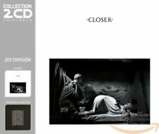 "JOY DIVISION ""CLOSER/UNKNOWN PLEASURES"" 2 CD NEW+"