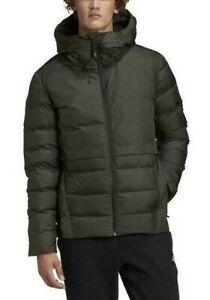 Adidas Urban Hooded Jacket Cold.RDY 600 Down Fill Coat Green NEW Men's $180