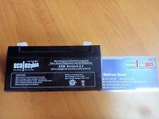 6V 3Ah 3.2Ah Rechargeable Valve Regulated Sealed Lead Acid Battery 20HR VRLA SLA