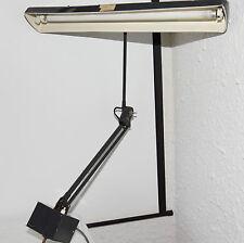 "Vintage Retro Planet ""F"" Goose Neck Style Fluro Desk / Table Lamp"