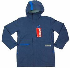NEW $325 Mens RARE Marker Burnout RECCO Ski Snowboarding Jacket Coat Medium Blue