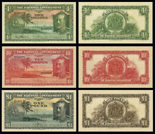 THE BAHAMAS GOVERNMENT COPY LOT B (1919) - Reproductions