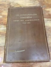 Viii Internationaler Congress Gegen Den Alkoholismus Wien 1901 Book