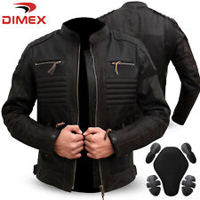 Genuine Leather Motorbike Motorcycle Jacket Black Biker CE Armour Dark Brown