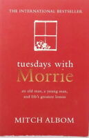 Tuesdays with Morrie with a new Afterword by the Author by Mitch Albom used PB