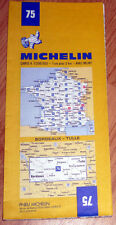 Carte MICHELIN N° 75 - Bordeaux - Tulle 1984
