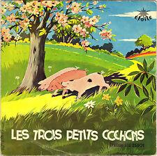 """JACQUES METEHEN """"LES TROIS PETITS COCHONS"""" HISTOIRE 60'S 25 CM ETOILE DS 25901"""