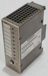 SIEMENS SIMATIC S5 6ES5 421-8MA12 DIGITAL INPUT MODULE 24VDC C-K4B62957